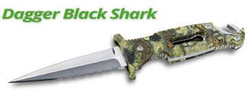 Picture of DAGGER BLACK SHARK KNIFE