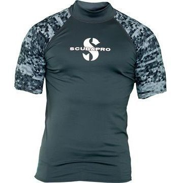 Picture of RASH GUARD  GRAPHITE UPF-50 (MEN)