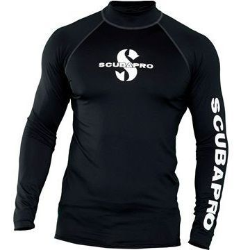Picture of RASH GUARD LONG BLACK UPF-50 (MEN)