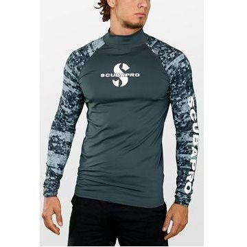 Picture of RASH GUARD GRAPHITE LONG UPF-50 (MEN)
