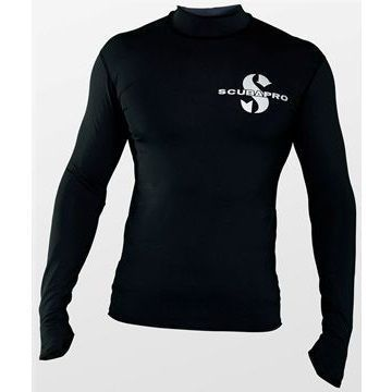 Picture of RASH GUARD SWIM BLACK UPF-50 (MEN)