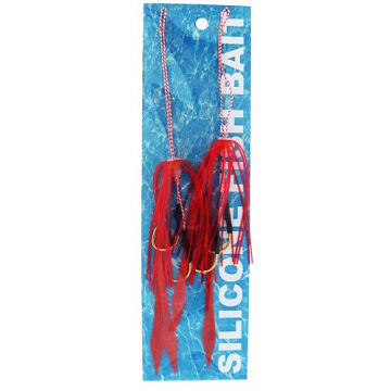 Picture of SILICONE FISH BAIT RED
