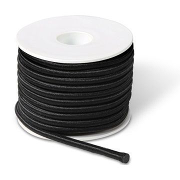 Picture of Black elastic rope 5mm 10m