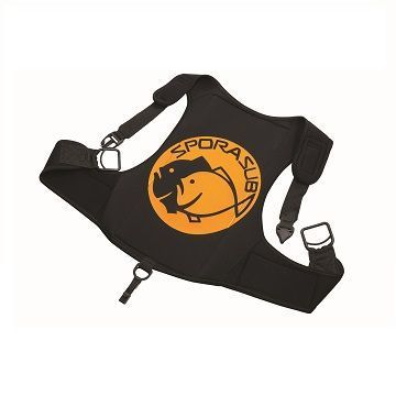 Picture of Quick release harness black 3mm SAFETY POINT size L
