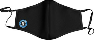 Picture of FACE MASK LOGO - BLACK